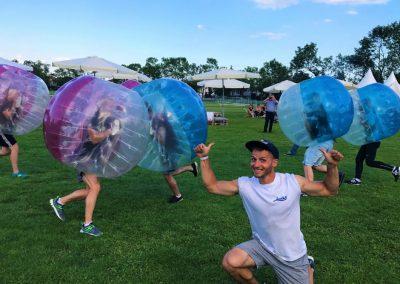 Bubble Football na Imprezie Firmowej