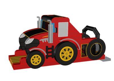 Zjeżdżalnia Traktor 1