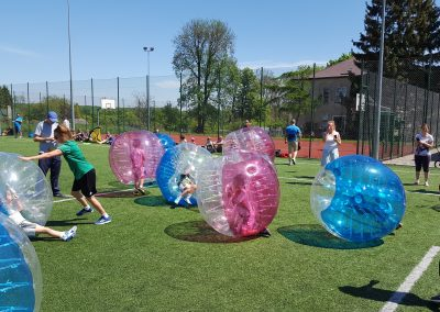 Piknik rodzinny Bubble Football Warszawa