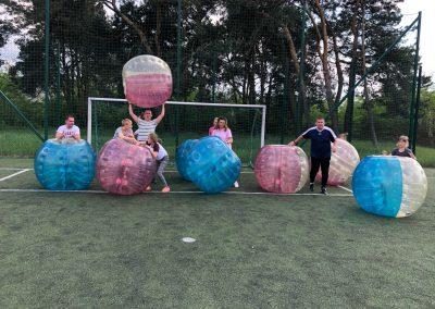 Sportowe Urodziny z Bubble Football