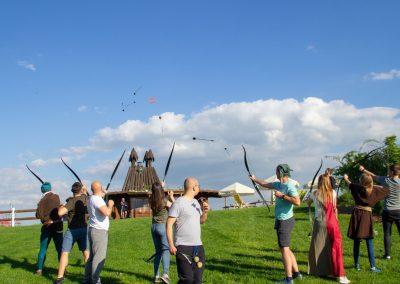 Archery Tag na imprezie firmowej jako pomysł na team building