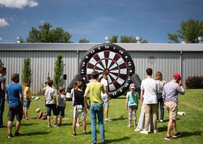 Football Darts na imprezie firmowej jako pomysł na team building