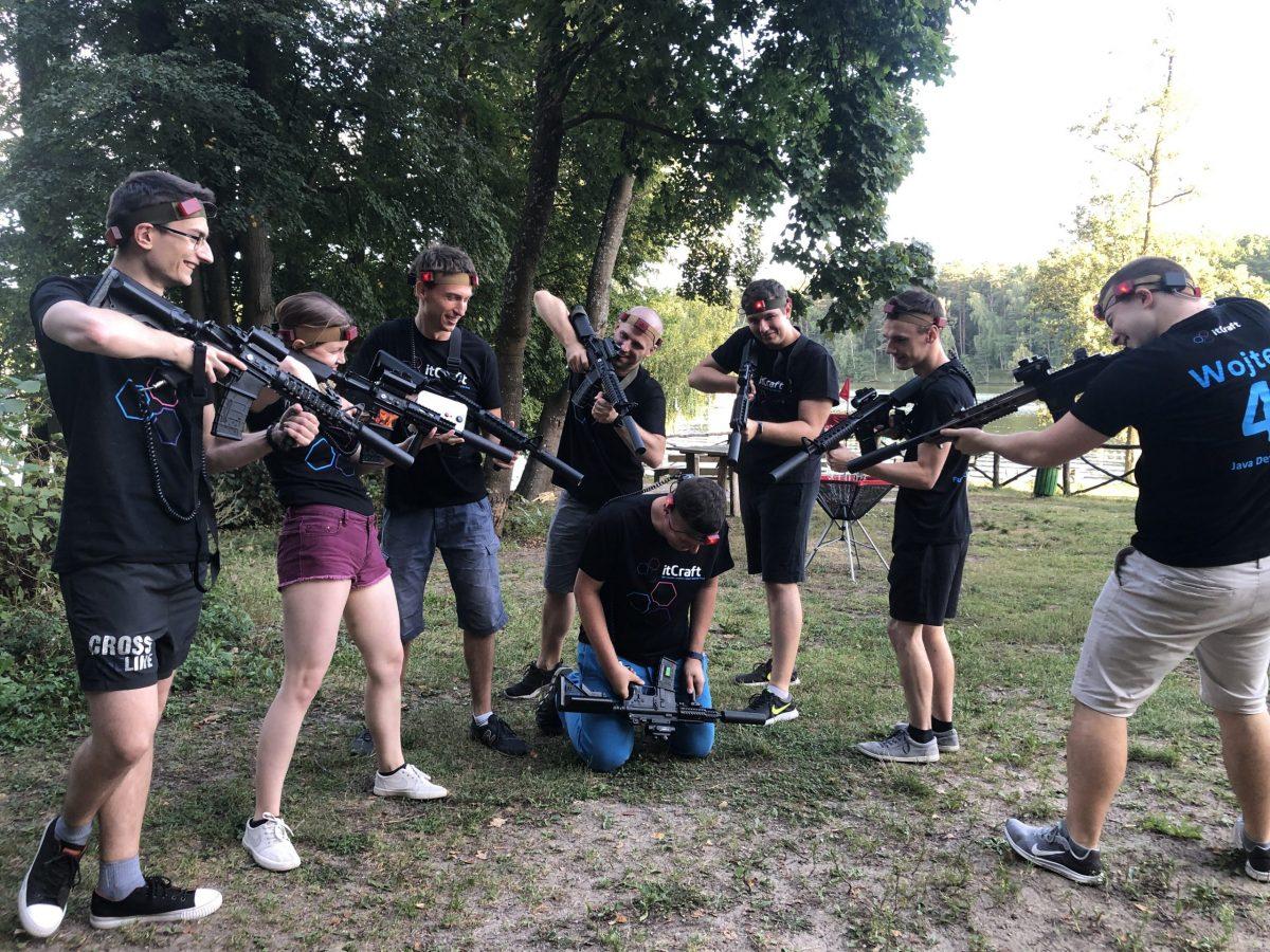 Laser Tag na imprezie firmowej jako pomysł na team building