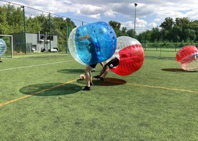 Bubble Football w Krakowie - podczas wieczoru kawalerskiego