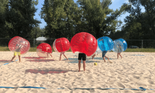 Bubble Football w Monta Beach Club
