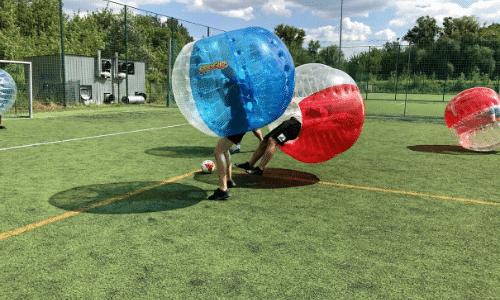 Bubble Football - wieczór kawalerski na Warszawiance