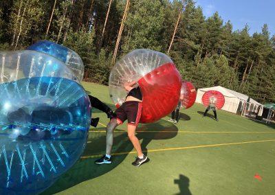 Bubble Football Wrocław - zderzenie!